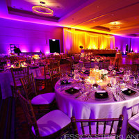 Reception, Flowers & Decor, purple, Lighting, Amber