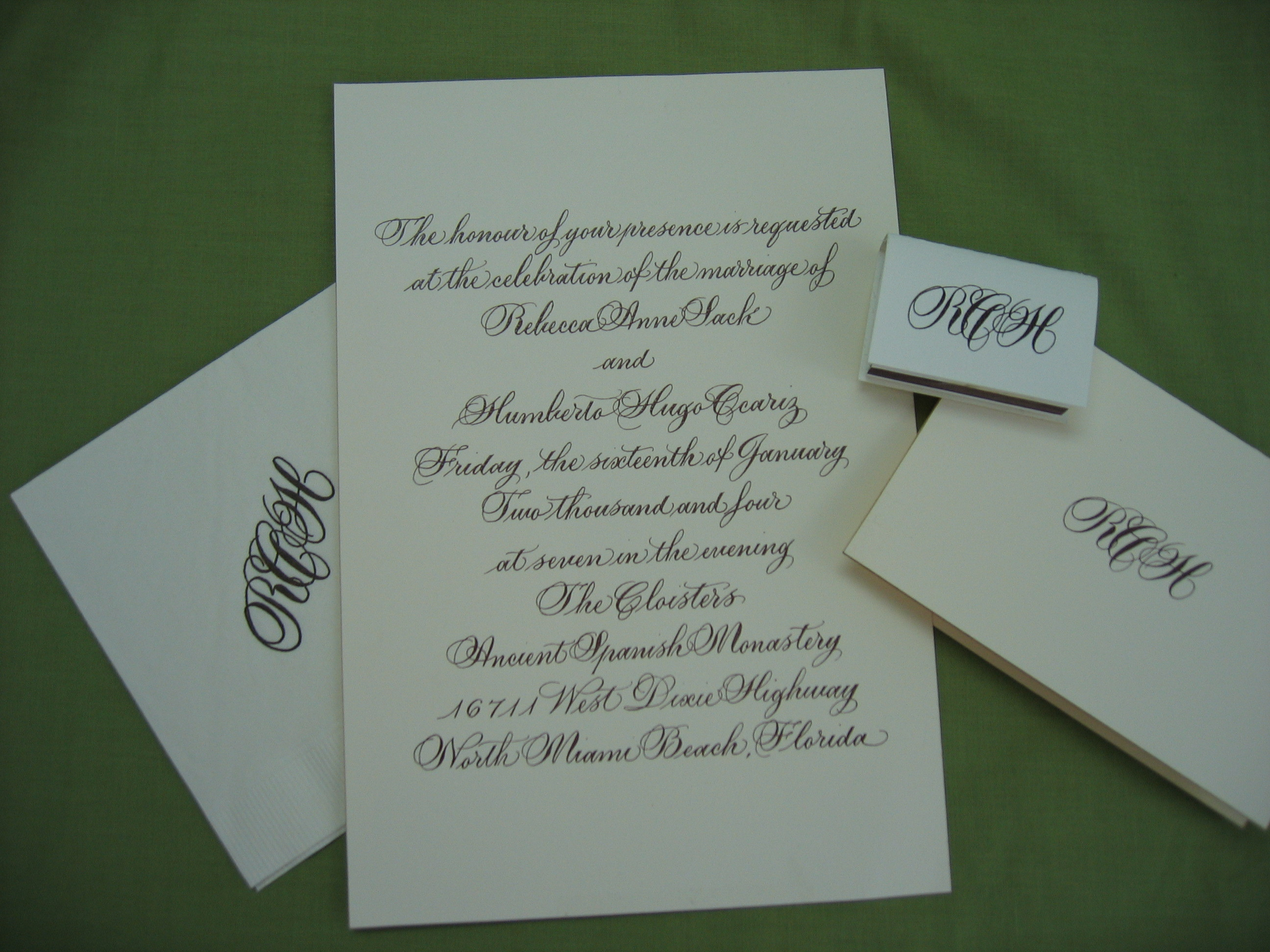 Calligraphy, Stationery, invitation, Invitations, Calligraphy by elaine