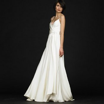 Wedding Dresses, Fashion, ivory, dress, Silk, J crew goddess gown, Silk Wedding Dresses