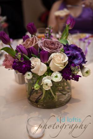 Flowers & Decor, white, purple, Centerpieces, Flowers, Centerpiece, Kd loftis photography