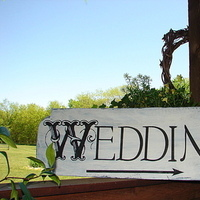 Reception, Flowers & Decor, Decor, Photography, Beach, Bride, Beach Wedding Flowers & Decor, Groom, Wedding, Church, Outdoors, Home, Park, Sign, Chapel, Outside, Wood, Family attic shoppe