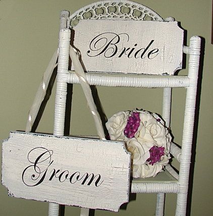 Reception, Flowers & Decor, Vintage, Bride, Groom, Wedding, Gift, Family, Room, Signs, Dressing, Chic, Shabby, Cottage, Attic