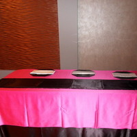 black, Table, Head, Fuschia