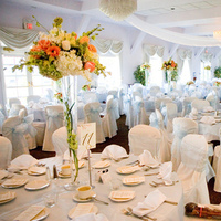 Reception, Flowers & Decor, white, Tables & Seating, Flowers, Peach, Chairs, Table decor, Perfect planning events, Perfect planning