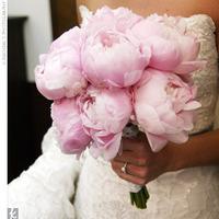 pink, Bouquet, Peonies