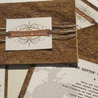 Paper, Wedding, Cowboy, Ranch, Western, Leather, Southall eden
