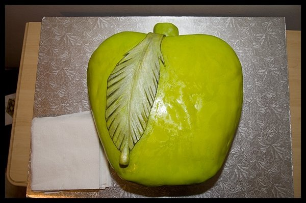 green, Apple, Art