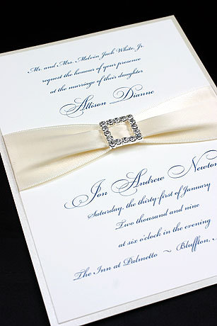 Reception, Flowers & Decor, Stationery, invitation, Classic Wedding Invitations, Glam Wedding Invitations, Invitations, Monogram, Map, Custom, Ornate, Design, Card, Rhinestone, Pattern, Houston, Response, Solutions, Buckle, Invitation solutions