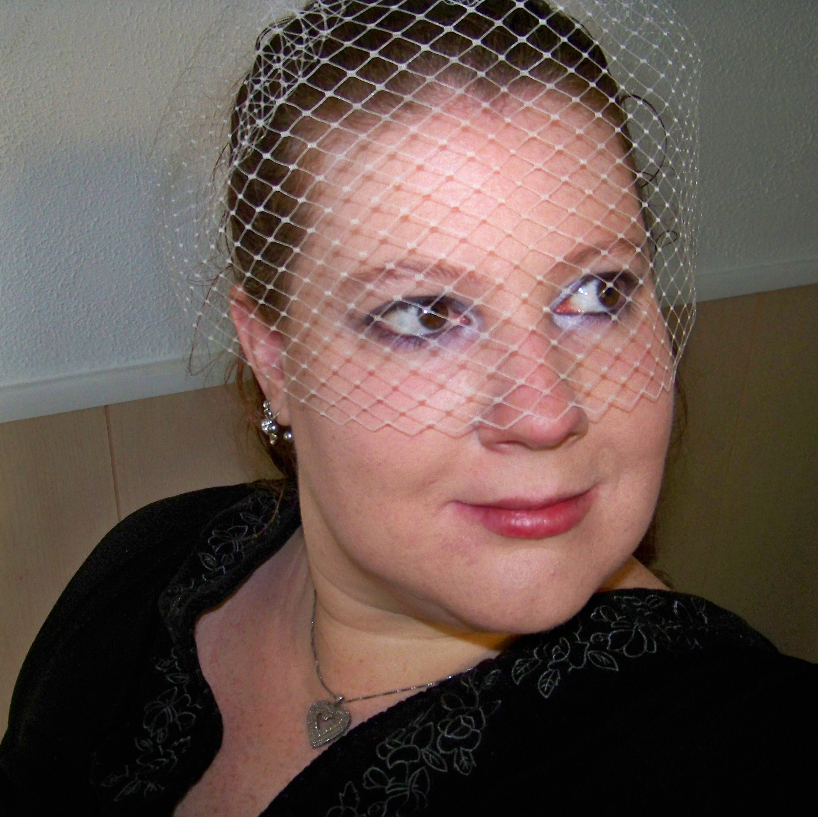 Beauty, Veils, Fashion, Veil, Wedding, Hair, Bridal, Birdcage, Headpiece, French, Netting, Russian, Donnaella wedding accessories