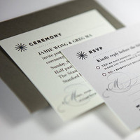 Stationery, yellow, Invitations, Grey
