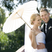Beauty, white, black, Updo, Hair, Parasol, Damask