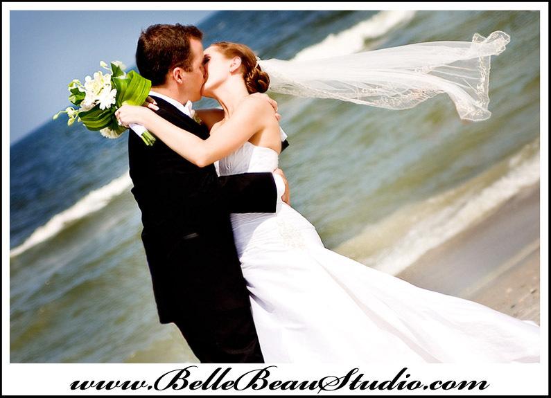 Photography, Beach, Bride, Groom, Portrait, Wedding, Couple, Artsy, Edgy, Wind, Bellebeau studioanya albonetti
