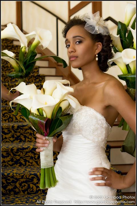Bride, Bouquet, Lily, Formal, Gamboa photos
