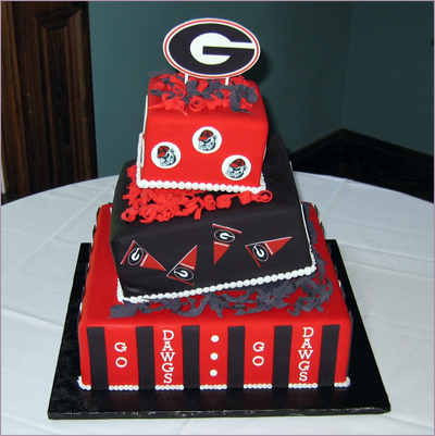 Grooms, Georgia, Bulldog, For goodness cakes