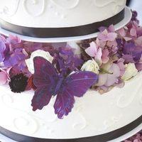Flowers & Decor, Cakes, purple, cake, Flower, Vaughn floral design