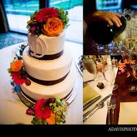 Flowers & Decor, Cakes, cake, Flowers, Wedding, Table, Arrangement, Allison davis photography