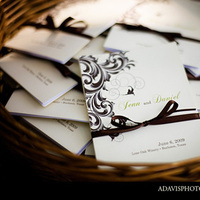 DIY, Stationery, Ceremony Programs, Programs, Wedding, Winery, Allison davis photography