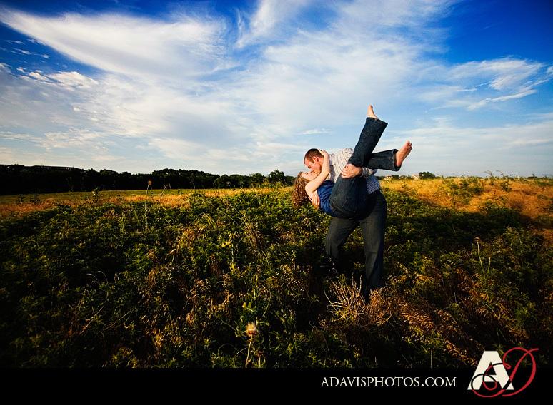 Portrait, Engagement, Nature, Preserve, Hills, Arbor, Field, Wild, Plano