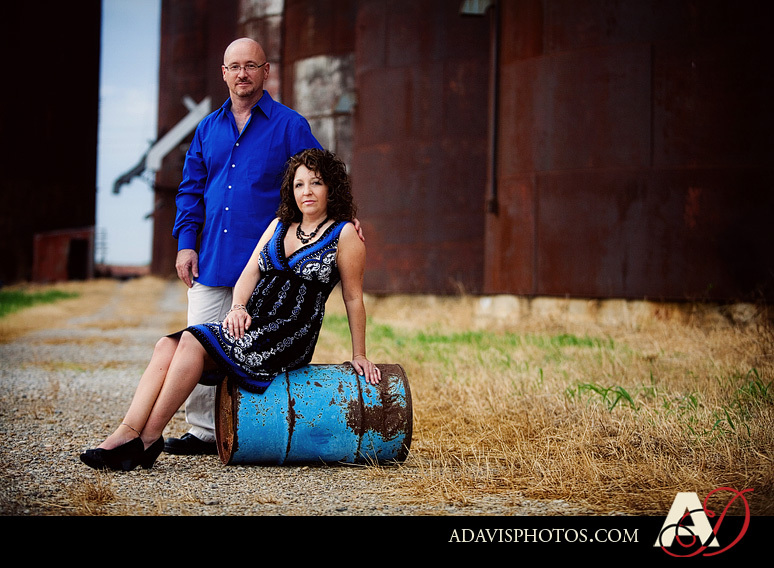 Portrait, Engagement, Texas, Allison davis photography, Grain, Silos, Prosper