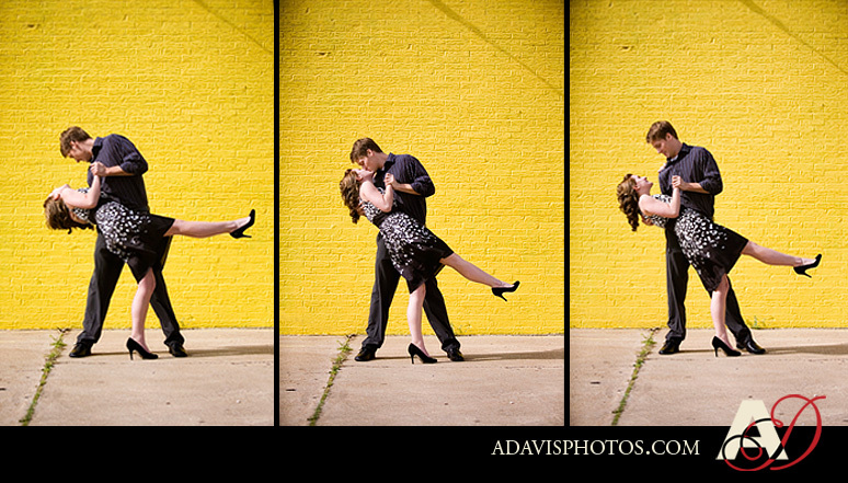 Portrait, Engagement, Deep, Downtown, Dallas, Ellum
