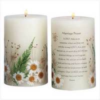 Flowers & Decor, Centerpieces, Flowers, Centerpiece, Candle, Unity, Marriage, Decoration, Scented, Annies gifts collectibles