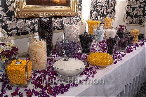 Favors & Gifts, Favors, Dessert, Wedding, Candy, Buffet, Station, Custom candy buffet bars