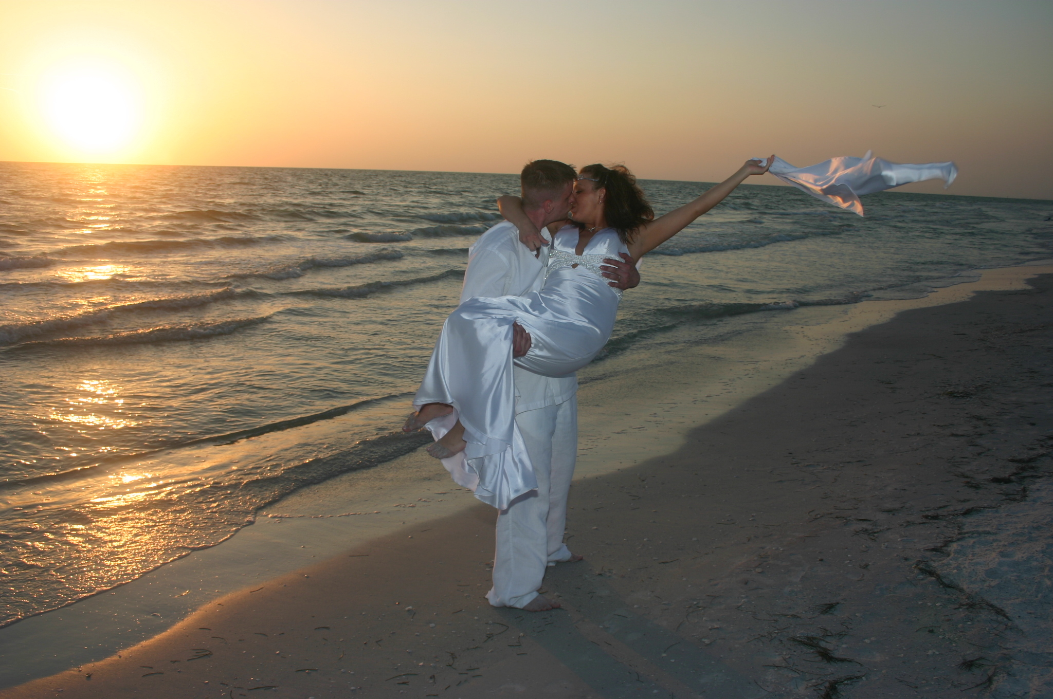 Destinations, Beach, Wedding, Romantic, Destination, Sunset, Elopement, Alafia ceremonies llc