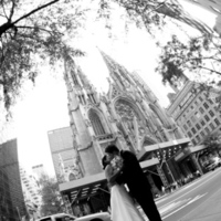Photography, Wedding, Church, Photographer, St, Saint patricks cathedral, Cathedral, Nyc, Chapel, Lady, Weding, Outside, Patricks