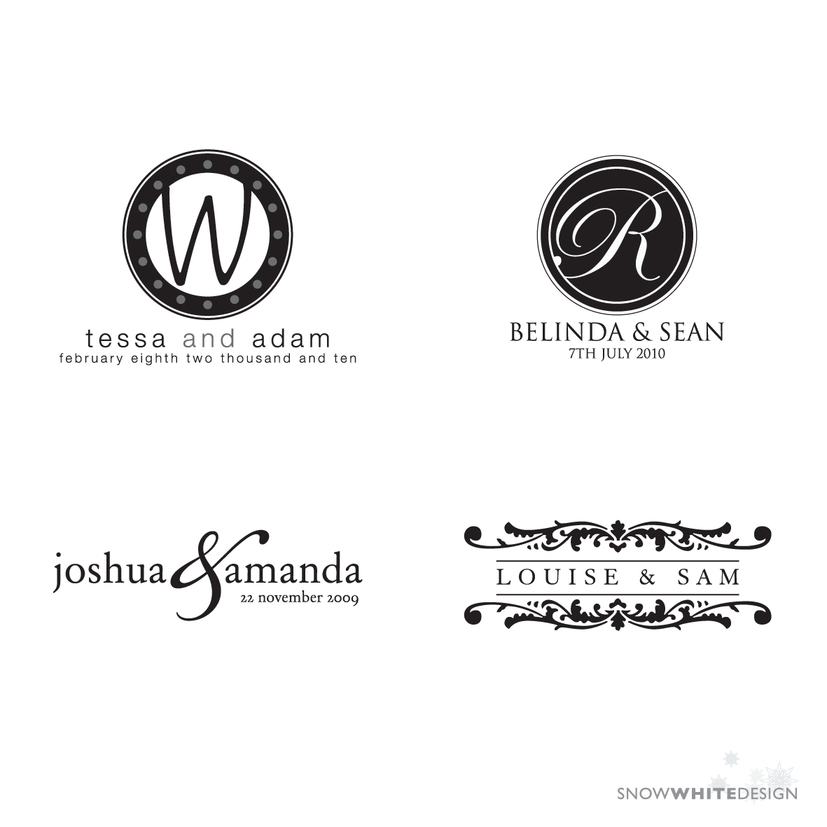 white, DIY, Monogram, Design, Logo, Digital, Snow, Snow white design, File