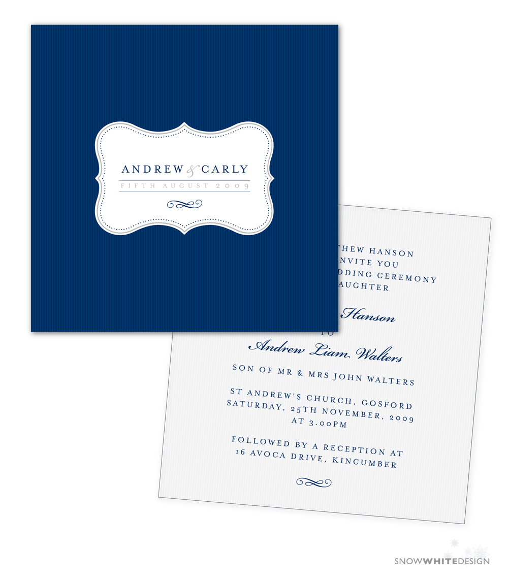 DIY, Stationery, white, invitation, Invitations, Design, Invite, Snow, Navy, Stripe, Snow white design
