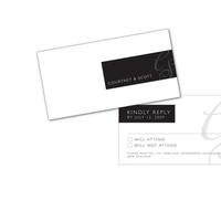 DIY, white, black, Grey, Rsvp, Design, Card, Snow, Response, Snow white design
