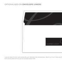 DIY, Stationery, white, black, invitation, Invitations, Grey, Design, Envelope, Invite, Snow, Address, Snow white design