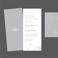 DIY, Stationery, white, invitation, Winter, Invitations, Monogram, Grey, Rsvp, Design, Invite, Snow, Snowflake, Response, Snow white design