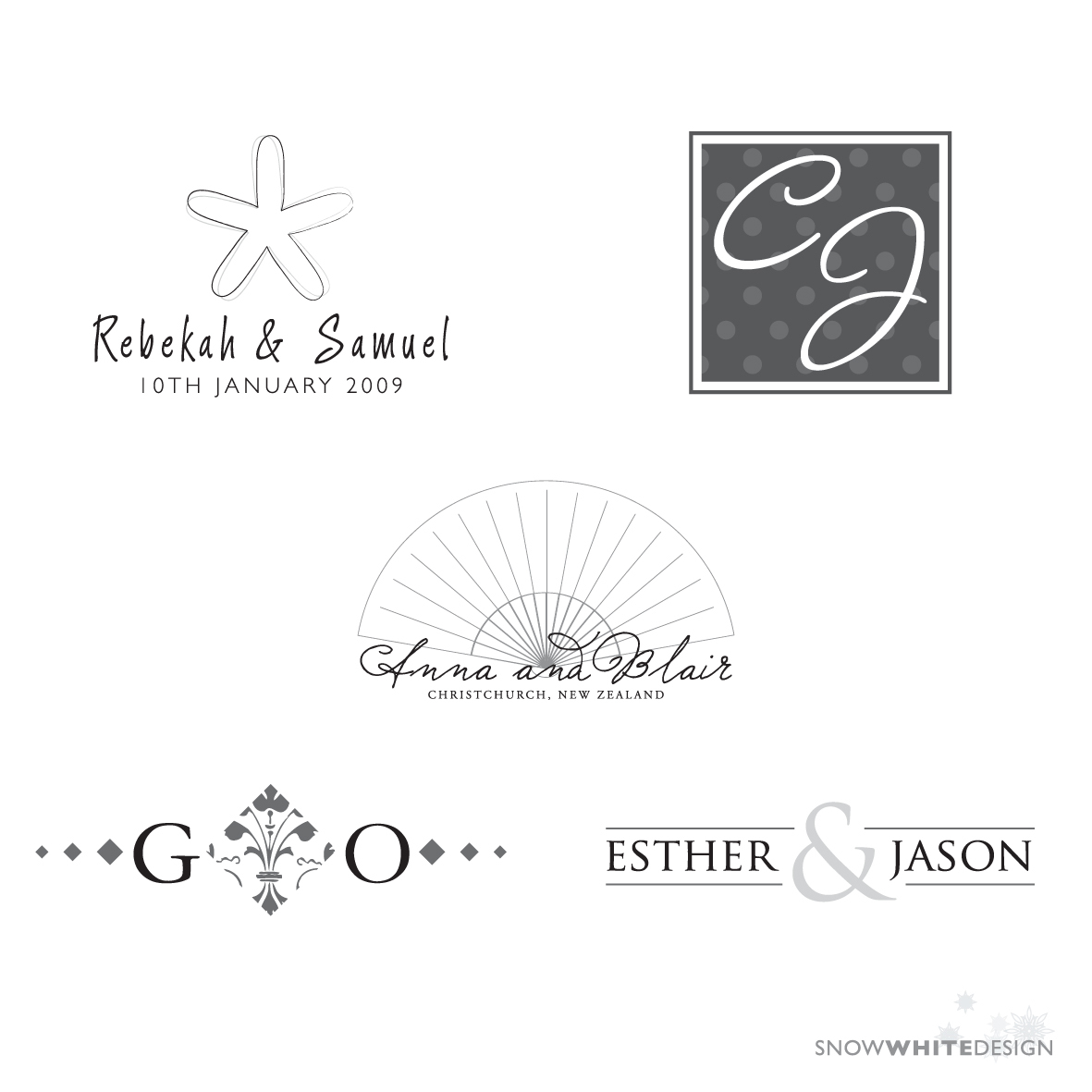 DIY, white, Monogram, Logo, Design, Snow, Digital, Snow white design, File