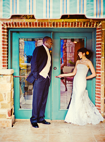 Bride, Groom, Doorway, Casual, Nessa k photography