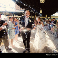 Wedding, Exit, Streamers, Dallas, Allison davis photography