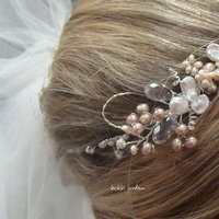 Beauty, Jewelry, Tiaras, Accessories, Hair, Bridal, Tiara, Head, Fascinator, Piece, Hairpiece, Bobbi jordan