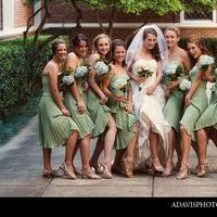 Flowers & Decor, Bridesmaids, Bridesmaids Dresses, Fashion, Bridesmaid Bouquets, Flowers, Dresses, Allison davis photography, Flower Wedding Dresses