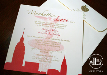 Stationery, Modern Wedding Invitations, Invitations, Wedding, York, New, Lela new york