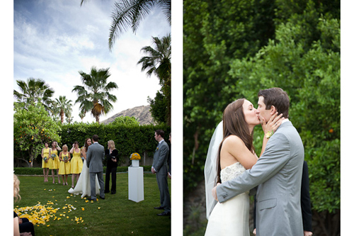 Ceremony, Reception, Flowers & Decor, Decor, white, yellow, gray, Ceremony Flowers, Aisle Decor, Modern, Flowers, Modern Wedding Flowers & Decor, Grey, Hotel, Fun, Floral, Candy, Aisle, La partie events, Palm, Bar, Creative, Succulents, Monique, Lhuillier, Sweets, Springs, Billy, Movie, Balls, Succulent, Mod, Colony, Crespedia