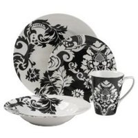 Reception, Flowers & Decor, Damask, Dinnerware