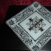 Registry, Place Settings, Damask, Plate