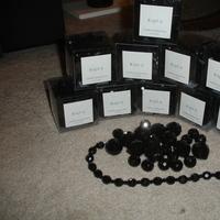 black, Crystals