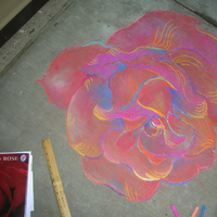 Ceremony, Flowers & Decor, Decor, red, Colorful, Rose, Alternative, Runner, Art, Indie, Chalk, Just by jen
