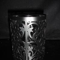 Damask, Candleholder, Metal, 45