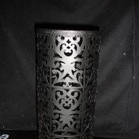 Damask, Candleholder, Large, Metal