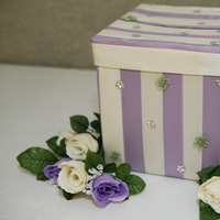 DIY, Reception, Flowers & Decor, ivory, purple, green, Flowers, Box, Lavender, Card, Sage
