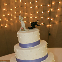 Reception, Flowers & Decor, Cakes, ivory, cake, Cake topper, Lavender, Fishing