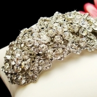 Barrette, Dtabridalcom, Bridal hair accessory