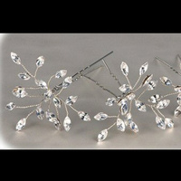 Beauty, Hairpin, Swarovski, Hairpins, Dtabridalcom, Crystal hairpins